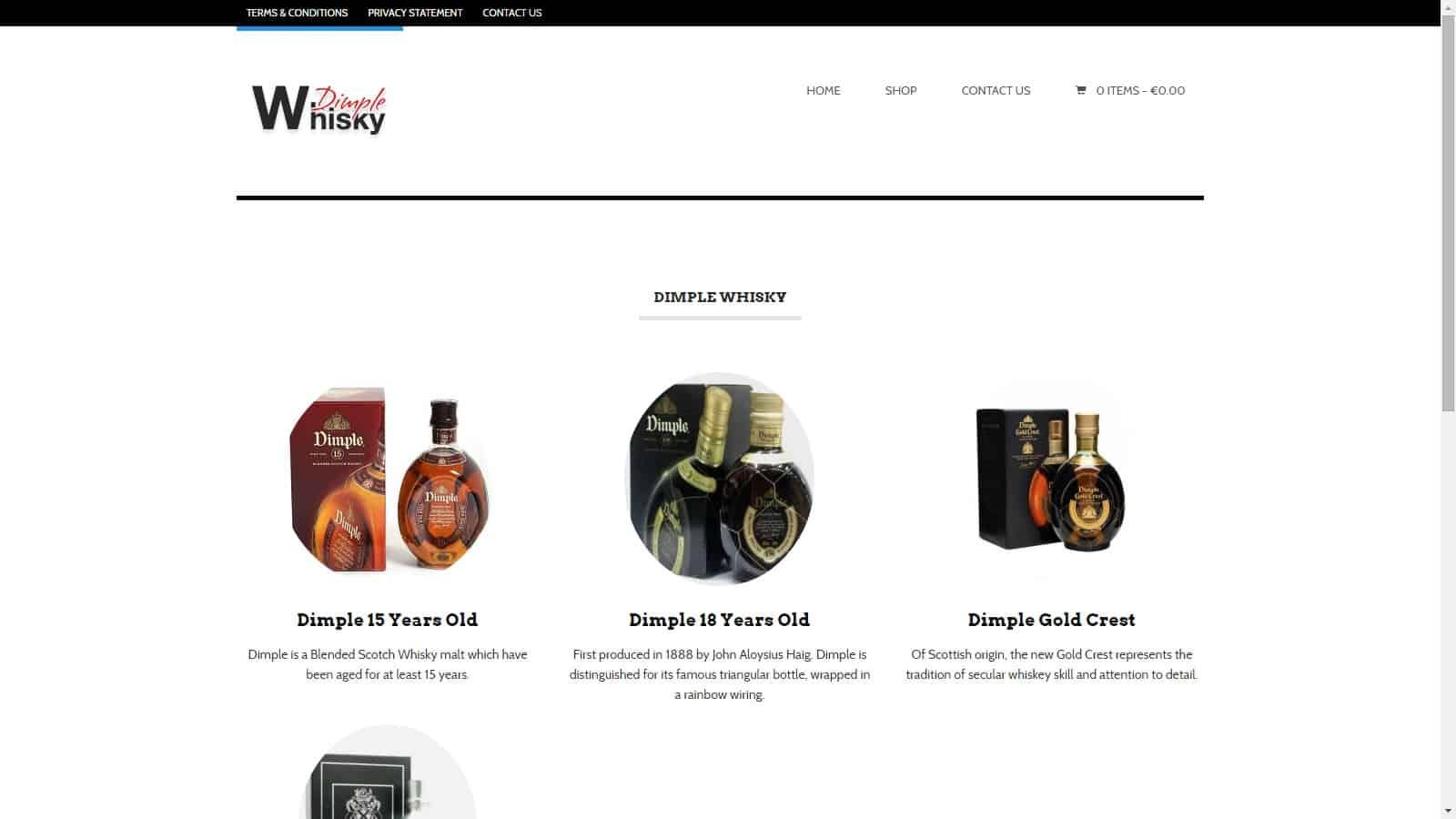 Dimplewhisky.com